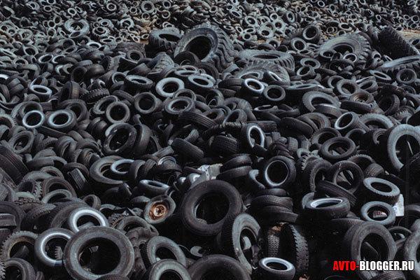 Куда деть старые шины? Рассматриваем варианты