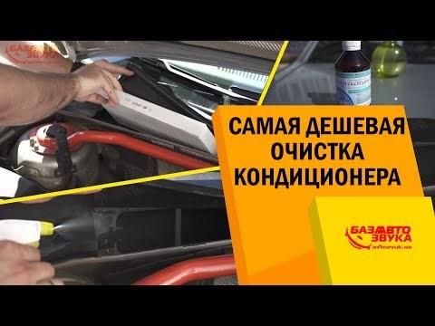 Как почистить кондиционер в машине своими силами? 2 способа