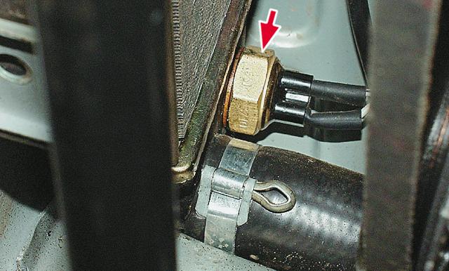 Как проверить датчик включения вентилятора? Это тоже может поломаться
