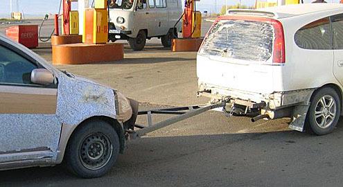 Почему запрещается буксировать автомобиль с неисправными тормозами? Коротко по фактам