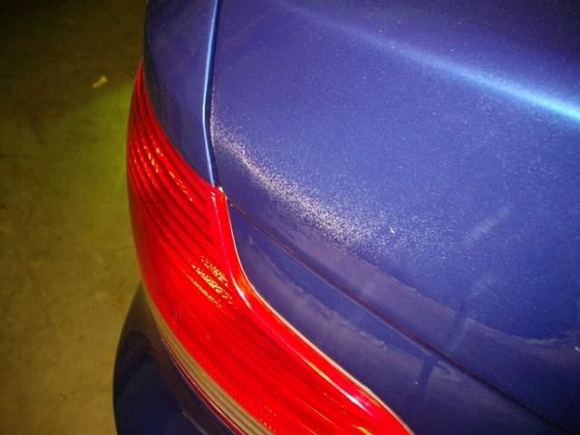 Как убрать подтеки краски и лака после покраски авто? Советы по делу