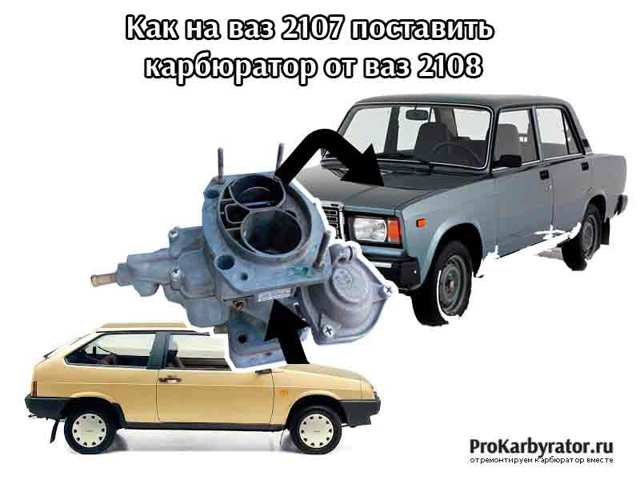 Какой карбюратор лучше поставить на ваз 2106, 2107 и 2109? Когда знания сила