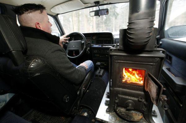 Установка дополнительной печки в салон автомобиля своими руками. Когда совсем холодно