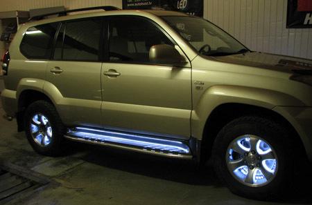 Делаем подсветку салона автомобиля своими руками. Красота тюнинга салона