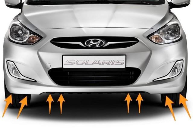 Как снять передний бампер на hyundai solaris? Это проще, чем кажется