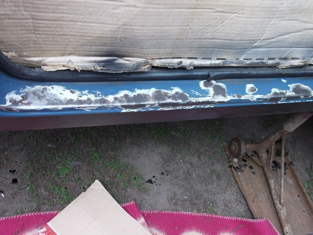 Покраска порогов автомобиля своими руками. Все от первого до последнего шага