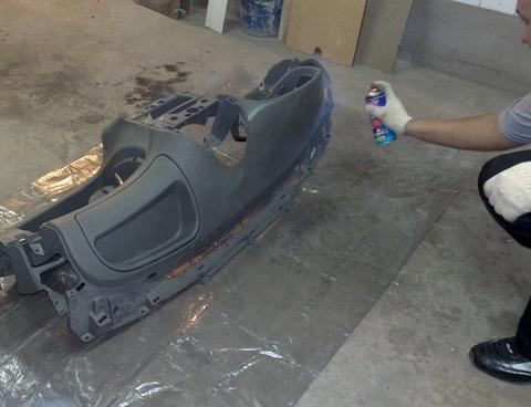 Чем покрасить торпеду автомобиля? Пошаговые советы полезный обзор