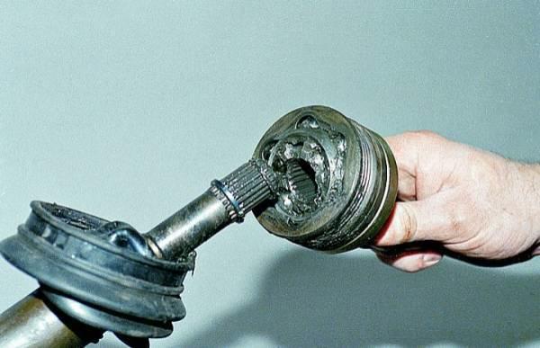 Замена шруса на ваз 2109 и 21099. Когда все поломалось