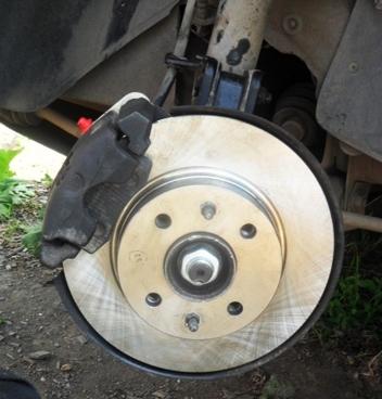 Все о замене тормозных дисков на ваз 2114