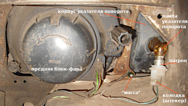 Не работают поворотники на ваз 2109? Элементарный ремонт