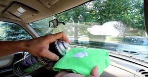 Как очистить лобовое стекло внутри от загрязнений? Рассматриваем все возможные средства