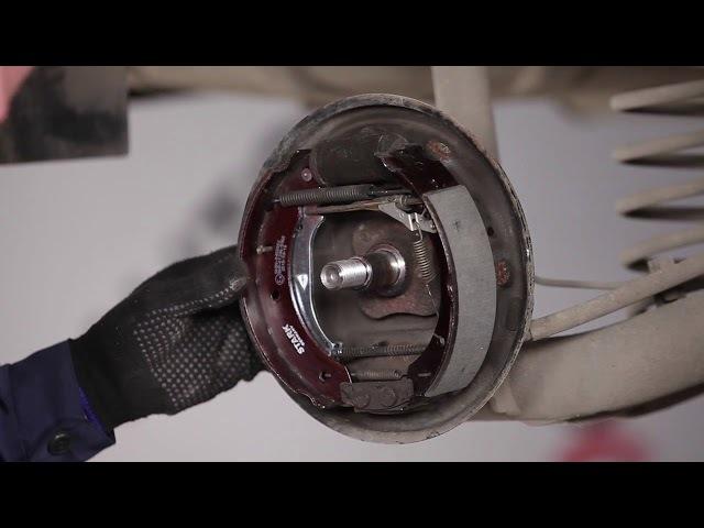 Замена задних тормозных колодок на renault logan. Обслуживаем француза
