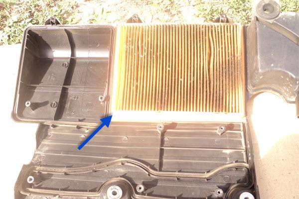 Процедура замены воздушного фильтра на на ford fusion. Не плати сто