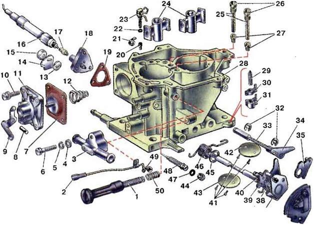Настройка карбюратора на ваз 2107, 2109 и 21099. Стыдно не уметь
