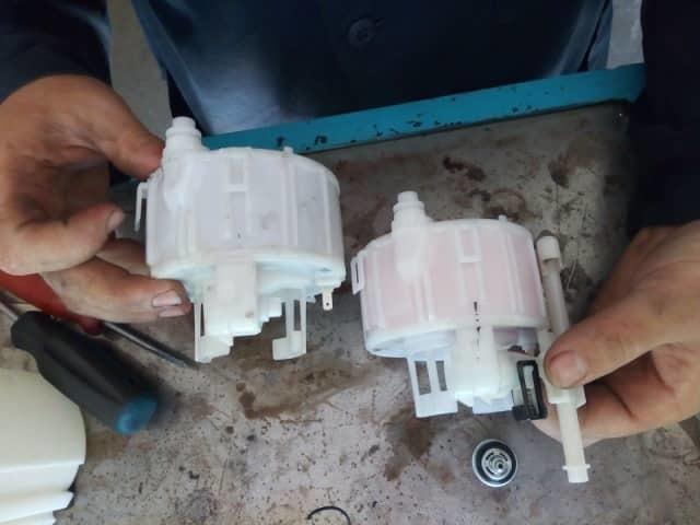 Правильная замена топливного фильтра на hyundai solaris. Избегаем популярных ошибок