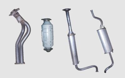 Все о выхлопной системе ваз 2115. Устройство, поломки и ремонт