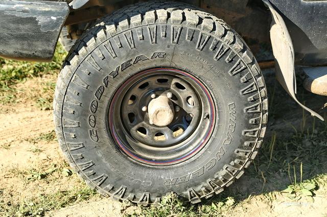 Отзыв о шинах goodyear wrangler duratrac. Идеал для покатушек