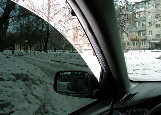 Можно ли тонировать машину зимой? За и против