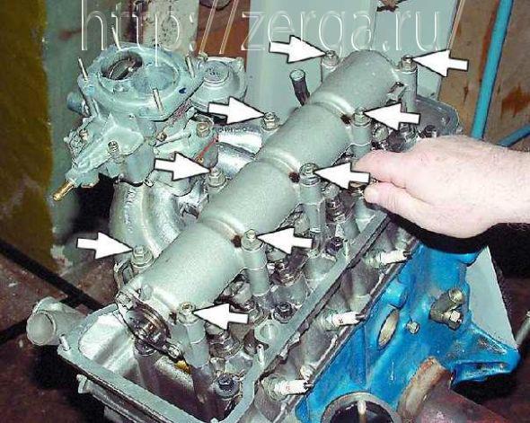 Замена прокладки головки блока цилиндров на ваз 2107. Хватит платить сто