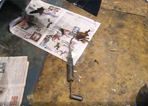 Как наносить пушечное сало? Простой мануал