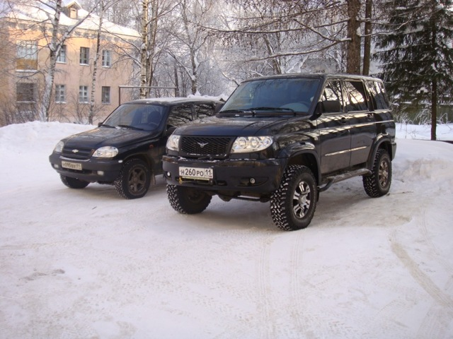 Что лучше - уаз патриот или нива шевроле? Чем удивит русский автопром?