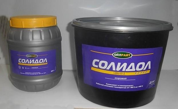 Чем отличается литол от солидола? Сравниваем и разбираем