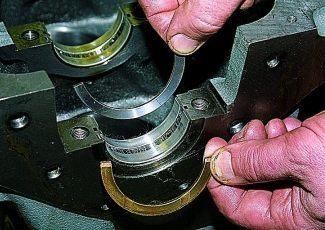 Как заменить вкладыши коленвала не снимая двигатель? Несколько советов