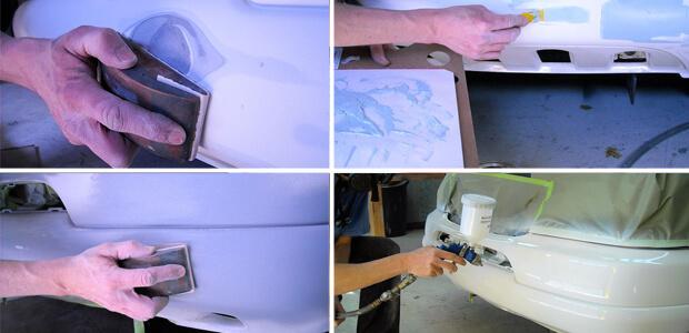 Как самому покрасить бампер? Пошаговые советы