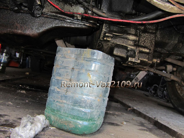 Самостоятельная замена тосола на ваз 2109. Сделай это
