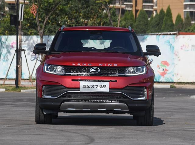 Landwind x7. Китайский автомобиль похожий на land rover
