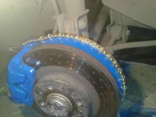 Делаем подсветку колес автомобиля своими руками. Все очень просто