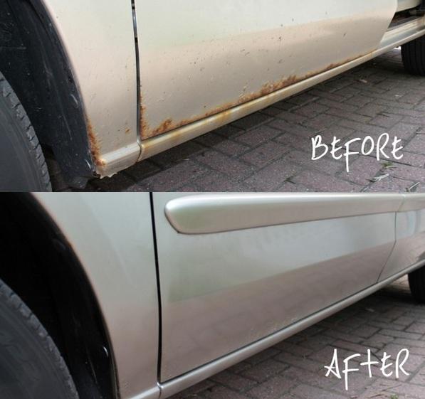 Как подкрасить ржавые места на машине? Список всего в одной статье