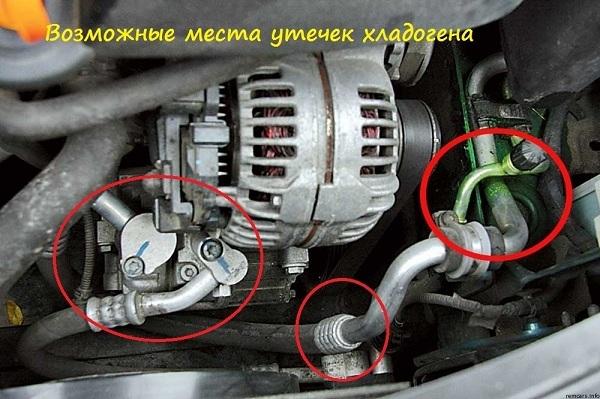 Ремонт трубки кондиционера авто своими руками. Все довольно просто